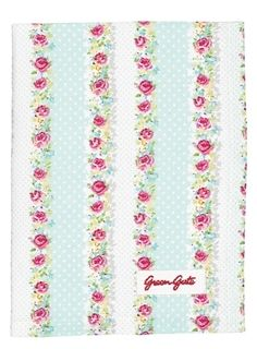 GreenGate April Mint Tea Towel from Love From Rosie