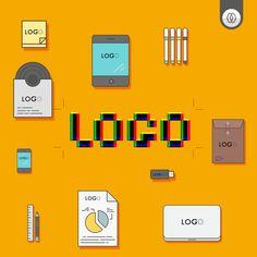 Tenha um logotipo dinâmico com variações. Compreenda a necessidade de ter variações de logo.