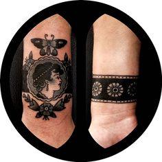 Tattoo done by Jemma Jones.