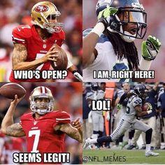 game nfl seahawks memes, nfl memes и football jokes Nfl Jokes, Funny Football Memes, Funny Nfl, Funny Sports Memes, Sports Humor, Funny Memes, Football Comedy, Soccer Humor, Truck Memes