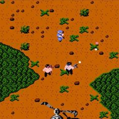"""Interesting one by animeretrogames #famicom #microhobbit (o) http://ift.tt/2bZEirr Neo Geo #SNK was already famous for making cool arcade games. Their #IkariWarriors (just #Ikari which literally means """"Anger"""" in Japan) was so popular it was ported to many platforms including #NES. 2-player co-op vertical scrolling run-n-gun. Despite the sluggish gameplay I had a blast playing it with friends. Somewhat difficult but you could always A B B A to continue where you died. Too bad it was buggy…"""