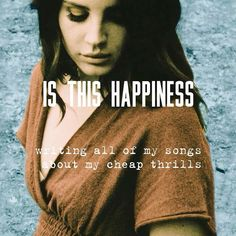 Lana Del Rey - Is This Hapiness