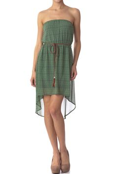 Strapless Printed Dress  $18.99