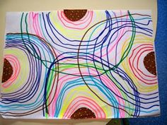 Kindergarten Art Projects, Dot Day, Easy Coloring Pages, Grande Section, Circle Art, Mondrian, Art Plastique, Drawing For Kids, Preschool