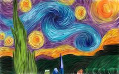 My Starry Starry Night by *ShariIsLikeWHOA on deviantART