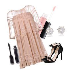 """Prom2016#2"" by elina-bartsevich on Polyvore featuring мода, MAC Cosmetics, N°21, STELLA McCARTNEY, Chanel и River Island"