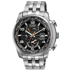 Citizen Eco-Drive Men's World Time A-T Watch