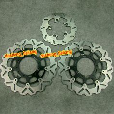 217.55$  Watch now - http://alias8.worldwells.pw/go.php?t=1457185519 - Front & Rear Brake Disc Rotors For Suzuki 2008-2011 GSXR 600 750 / 2009-2011 GSXR 1000, Motorcycle Parts Accessory Manufacturer 217.55$