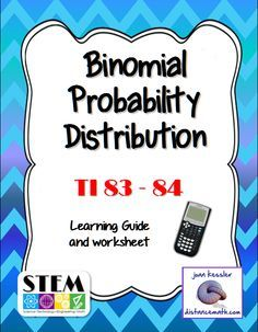 Ap Statistics Binomial Distribution Ti   Plus Worksheet  Ap