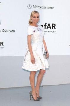 Diane Kruger at Cinema Against AIDs amfAR Gala during Canne Film Festival 2012