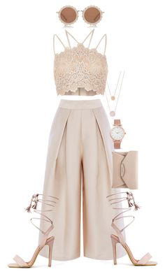 """""""Luminta Pale"""" by believeindiamonds on Polyvore featuring River Island, Givenchy, House of Holland, Larsson & Jennings and Michael Kors"""