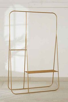 Beautiful!! exposed hanger -- Calvin Double Clothing Rack - Urban Outfitters