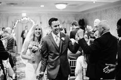 They do! | Springfield Country Club Indoor Wedding Ceremony