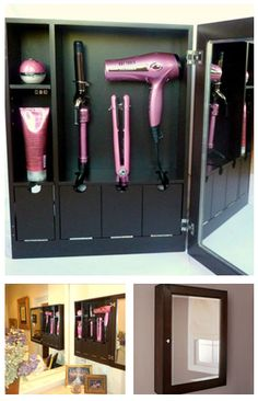 Could it really be? The perfect place to store my hair styling tools. I want one so bad!