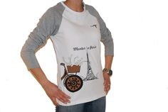 Paris T-shirt Female Long sleeve - ONE Carbon Bicycles™