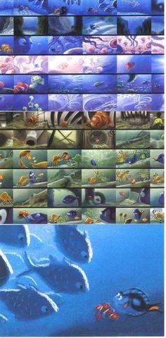 Pixar Finding Nemo concept art