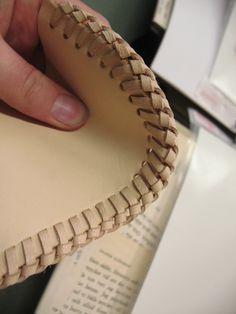 leatherworking - seams close up | by learningtofly_katafalk