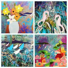 Annapolis artist and author, Julie Heath, creates one of a kind beach chic collages that incorporate the vibrant colors of the Caribbean and the flora and fauna of local rivers and bays.  It was way too hard to pick our favorite collage...so we didn't!  Pictured HERE. are a few we'll be debuting May 6th ~ 15th!  #lovethemall #hereapopupshop #newartist #julieheath #coastalcollages #maypopup #maysixththrufifteenth