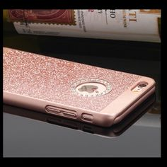 Rhinestone Diamond iPhone Case Crystal Rhinestone Diamond Bling Hard Case Cover For iPhone. Size-6 or 6 plus    Package included:  1 X Metallic + Plastic Case Cover  1 x Front Screen Protector 1 x Microfiber Cloth 1 x Application Card Accessories Phone Cases