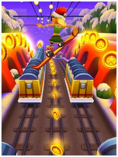 Subway Surfers is soooo cool. This was the first game i got on my iPhohe