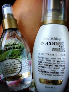Curly hair care products …