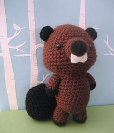 Beaver Crochet Amigurumi Pattern