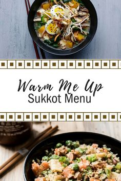 As the weather gets cooler, check out this comforting, warming menu perfect for Sukkot this year.