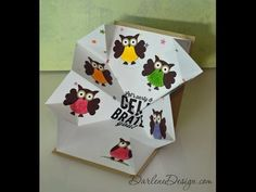 Stampin' Up! Owl Punch Explosion Card! - YouTube