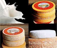 I Formaggi di #Valtellina  Lasciatevi catturare dal gusto imperdibile dei formaggi della Valtellina: dagli alpeggi, dove gli animali pascolano liberi, nascono prodotti unici come il Bitto, il Casera e lo Scimudin, tutti a marchio DOP.