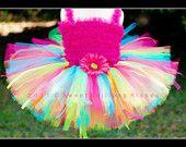 Rainbow Birthday Tutu