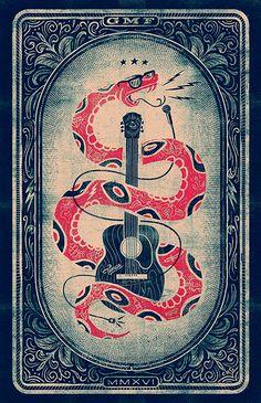 Illustration and poster design for Gasparilla Music Festival Rock Posters, Retro Posters, Band Posters, Music Posters, Illustration Design Graphique, Illustration Art, Creative Posters, Festival Posters, Art Design