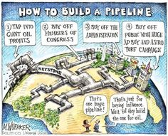 Obama take notice! We know how things get done in Washington and we have our eyes on what happens with Keystone XL.