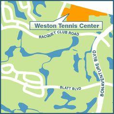 Weston Tennis Center  16451 Racquet Club Road 954-389-8666