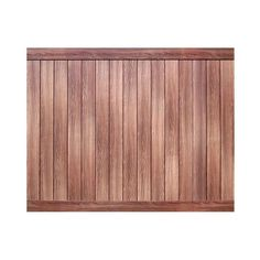 Pro Series 6 ft. H x 8 ft. W Walnut (Brown) Vinyl Anaheim Privacy Fence Panel - Unassembled