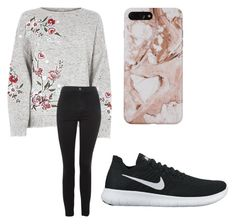 """Fall? What's that?"" by fangirlmendes on Polyvore featuring Topshop and NIKE"