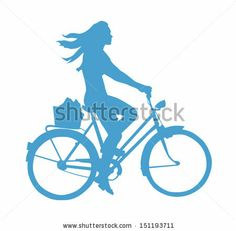 Cycling Trip Stock Illustrations, Cliparts And Royalty Free Cycling Trip Vectors Bike Silhouette, Woman Silhouette, Cute Squirrel, Squirrels, Bike Tattoos, Bike Quotes, Mobile Legend Wallpaper, Girl Clipart, Mobile Legends