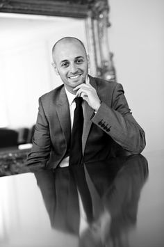 Black and white Corporate Portrait Photography by Headshot London Photography Studio