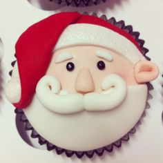 Santa cupcake by Sweet Palate                                                                                                                                                                                 More