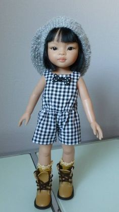 Combishort pour poupée Chéries de Corolle, et Amigas de Paola Reina, poupée de 32 à 33 cm chez Makerist