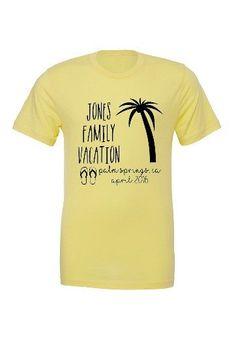69982a270 Palm Trees Family Vacation T-Shirt   Zazzle.com   family reunion ...