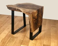 Excited to share the latest addition to my shop: IN STOCK- Live Edge Waterfall End Table Natural Edge Side Table English Walnut Table Wood Accent Table Slab Furniture Live Edge Furniture, Wood Furniture, Modern Furniture, Furniture Design, Furniture Market, Live Edge Table, Live Edge Wood, Easy Wood Projects, Walnut Table