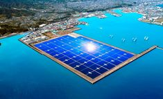 Usina solar do Japão é capaz de gerar 70 megawatts  Kagoshima Nanatsujima Mega Solar Power Plant