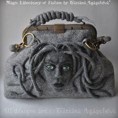 Felt MEDUSA bag