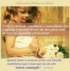 Devocional Dádivas do Senhor: Eterna consolação