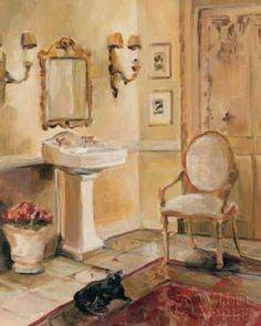 French Bath II (Marilyn Hageman)