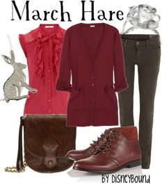 Crazy or not, the March Hare is quite a dapper fellow and he would like this outfit very much.