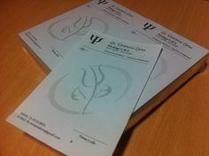 Últimos trabajos: diseño e impresión de recetarios en tinta negra