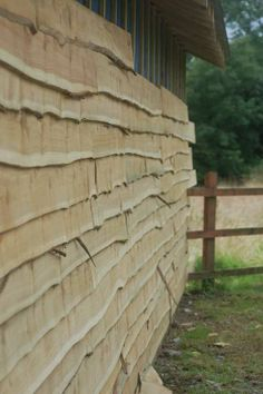 Rustic Wooden Cedar Cladding Shed Workshop refurb