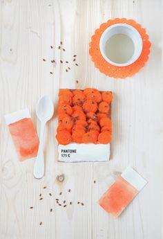 Pantone tart 171 C | by Emilie de Griottes #carrot #degriottes