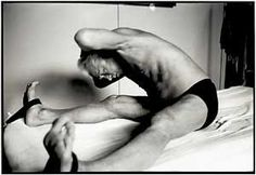 "Joseph Pilates doing ""Pilates"""